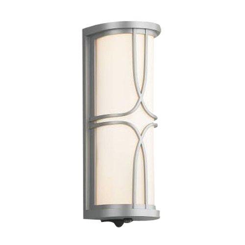 コイズミ照明 人感センサ付ポーチ灯 タイマー付ON-OFFタイプ ブライトシルバー塗装 AU40403L B00KVWJ6HK 10662