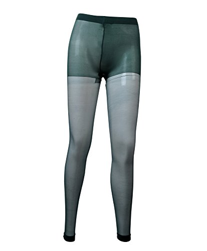 Solid Color Sheer Footless Tights