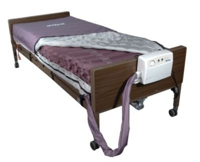 Drive Medical Med-Aire Alternating Pressure Mattress Replacement System With Low Air Loss - 1 Ea, 14027 ()