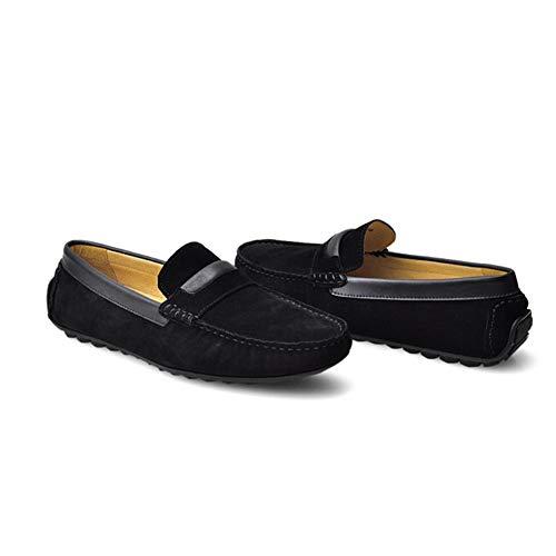 A Conducción Do Hechos Hombres Holgazán Deslizan Casuales Zapatos Los Mocasines Mano De En Del FvRZnxq1