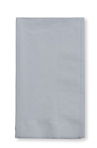 Silver Dinner Napkin, Choice 2-Ply, 15