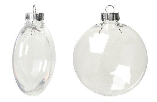 Creative Hobbies Clear Plastic Ornament Discs 80 mm (3.15