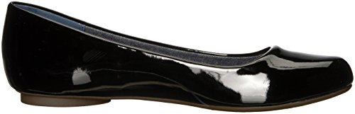 Dr. Scholls Womens Friendly2 Ballet Flat Black Patent