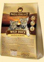 Wolfsblut Trockenfutter für Welpen Wild Duck PUPPY mit Ente und Kartoffeln 7,5 kg