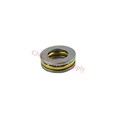 10pcs/lot F5-12M Axial Ball Thrust Bearing 5mm x 12mm x ()