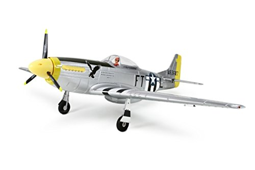 P-51D Mustang 1200mm Warbird RC Plane With Retracts 5Ch RTF (Warbird Plane Rc)