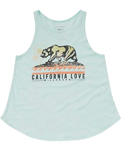- Billabong Girls' Big Love Cali Bear Tank, Beach Glass, L