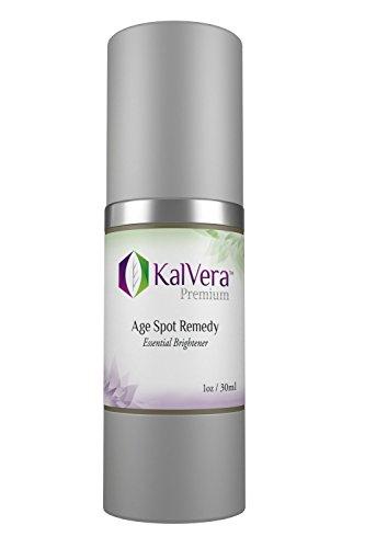 (KalVera Skincare Age Spot Remedy Natural Dark Spot Corrector Cream)