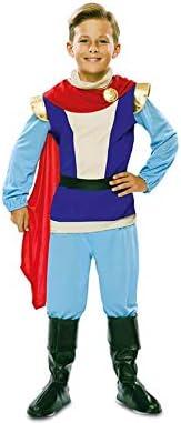 EUROCARNAVALES Disfraz de Príncipe Azul para niño: Amazon.es ...
