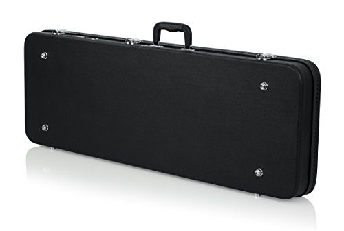 Gator Cases Hard-Shell Wood Case for Standard Electric Guitars; Fits Fender Stratocaster/Telecaster, More (GWE-ELECTRIC) by Gator (Image #3)