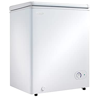Danby DCF038A1WDB1 Chest Freezer, 3.8 Cubic Feet, White