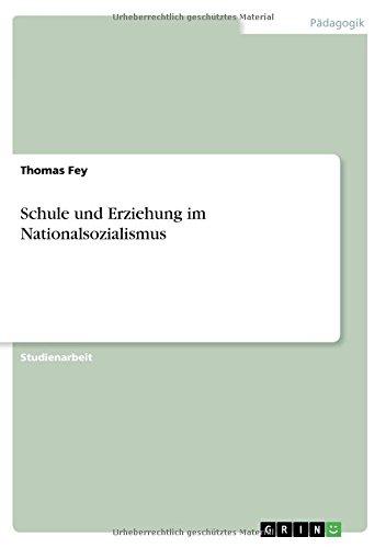 Schule und Erziehung im Nationalsozialismus