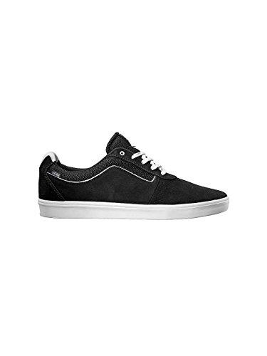Vans Hommes Lxvi Numéral Lo Top Skate Sneakers Noir Blanc