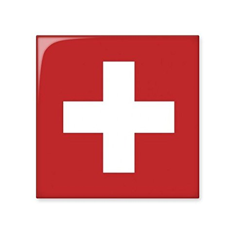 free shipping Switzerland National Flag Europe Country Symbol Mark Pattern Ceramic Bisque Tiles for Decorating Bathroom Decor Kitchen Ceramic Tiles Wall Tiles
