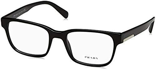 (Eyeglasses Prada PR 6 UV 1AB1O1 BLACK)