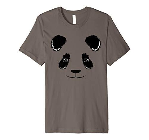 Cool Funny Panda Face Shirt Halloween Dress-Up Costume Gift