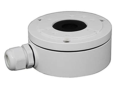 DS-1280ZJ-XS Alluminum Bracket Junction Back Box For Hikvision DS-2CD2042WD-I, 2CD20xx Series Bullet Cameras by AMSECU