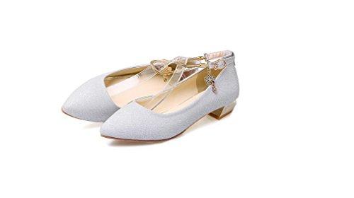 Beauqueen Ocio Botas de trabajo Bombas Mujeres de primavera y verano de tacón bajo Mujeres Zapatos ocasionales Europa Tamaño 33-43 , black , 39 Black