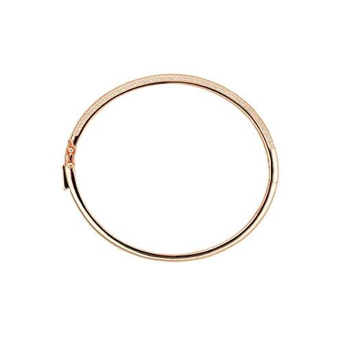 CLEOR - Jonc CLEOR Argent 925/1000 Oxyde - Femme - Taille Unique