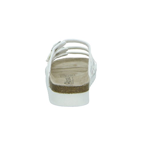 Alyssa 275073/101 Damen Bio Pantolette Weiß (Weiß)