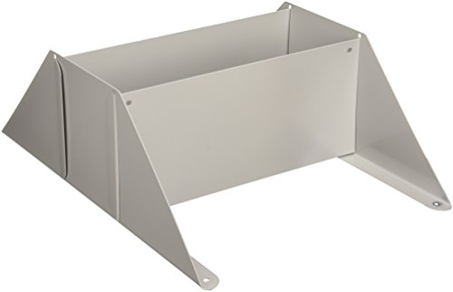 Buddy Products Base for Single Unit Display Racks, Steel, 10 x 12.13 x 4.88 Inches, Platinum (0817-32) ()