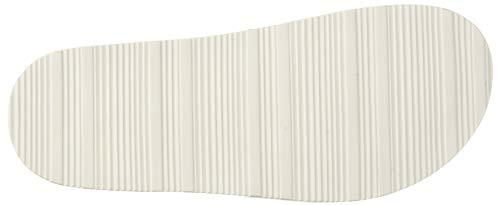 Klein Rubberized Smooth Art industrial White Hombre Calvin Sandalia F0985 dRPWnqxUp