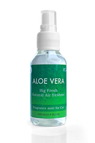 Big Fresh Natural 100ml Air Freshener Spray Fragrance Mist for car by 4Shaiks (Aloe ()