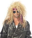 Heavy Metal Rocker Wig Costume Accessory