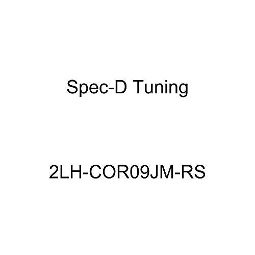 Spec-D Tuning 2LH-COR09JM-RS Black Headlight (Euro Housing) ()