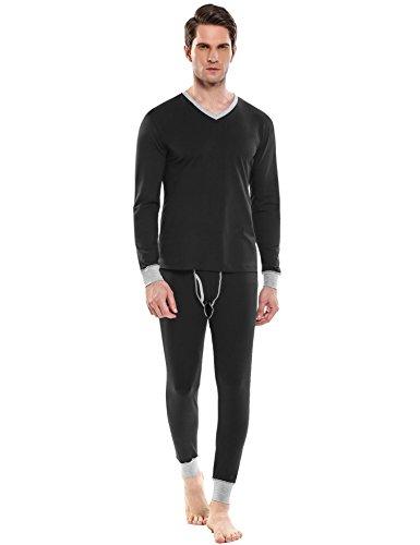 xl black thermal undershirt - 5
