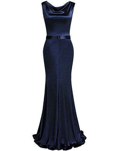 Drape Neck Gown - 5