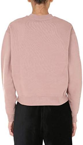 T by Alexander Wang Luxury Fashion Femme 4CC1201157260 Rose Coton Sweatshirt | Automne-Hiver 20