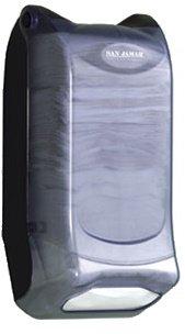 San Jamar H5000P Venue Wall Mount Minifold Control Napkin Dispenser, 600 Capacity, 8'' Width x 15-3/4'' Height x 5-9/10'' Depth, Clear by San Jamar (Image #1)
