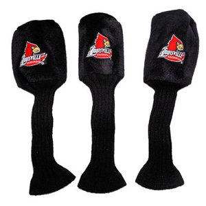 - Louisville Cardinals Logo Graphite Golf Headcovers