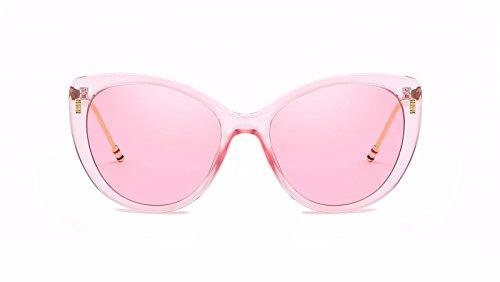 Sol Ojos C polarizadas D Gafas Mujer Gafas de de de Personalidad Intellectuality Sol Hombre Retro Zq6Wzx61va