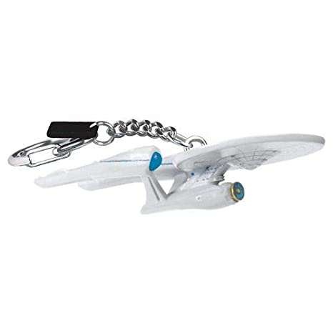 Star Trek Keychain USS Enterprise NCC 1701 2009 Movie Version