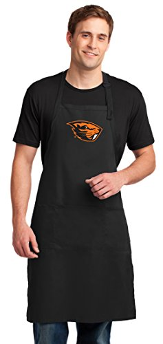 Oregon State University Apron LARGE Oregon State Aprons For Men or Women (University Oregon Beavers State Grill)