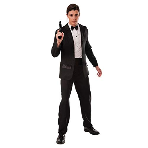 Forum Novelties Men's Secret Agent Deluxe Costume Tuxedo, Multi, Standard
