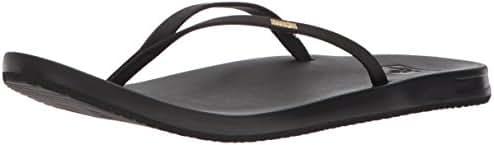 Reef Womens Sandals Slim   Vegan Leather Flip Flops for Women With Cushion Bounce Footbed   Waterproof