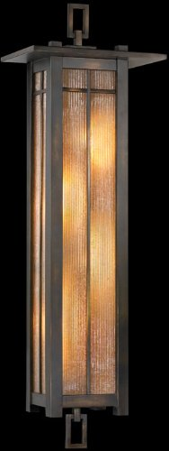 Fine Art Lamps 401681, Capistrano Outdoor Wall Pocket Sconce Lighting, 240 Total Watts, Bronze - Capistrano Outdoor Wall