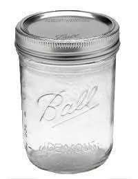 Ball Pint Jar, Wide Mouth, 1 Jar