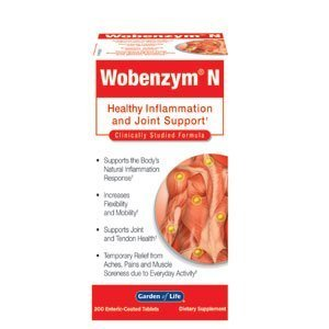 Wobenzym N Tablets 2 Pack 200 Tablets Per Bottle