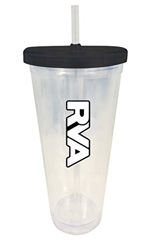 Richmond Virginia RVA Trendy Souvenir 24 oz Double Wall Straw Tumbler (Richmond Imports Richmond Va)