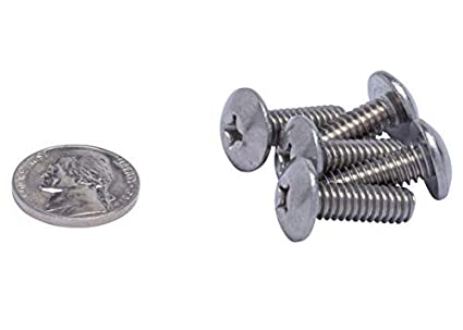 304 Stainless Steel 1//4-20 X 2-3//4 Stainless Phillips Truss Head Machine Screw, 18-8 Coarse Thread 25pc by Bolt Dropper
