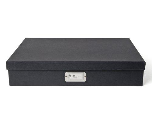 Bigso Sverker Document Box, Dark Gray