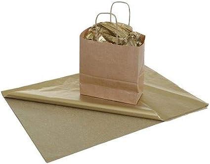 Priory Direct Papel de Seda en Oro - Reciclable Biodegradable y ...