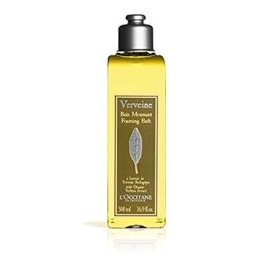 L'Occitane Foaming Verbena Bubble Bath with Organic Verbena Extract, 16.9 fl. oz.