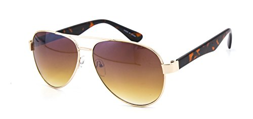 Eason Eyewear Men/Women's designer Aviator Sunglasses Brown/Brown