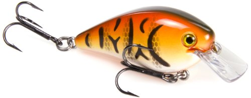 Strike King Square Bill 1.0 Crankbait, Db Craw, 1/4-Ounce