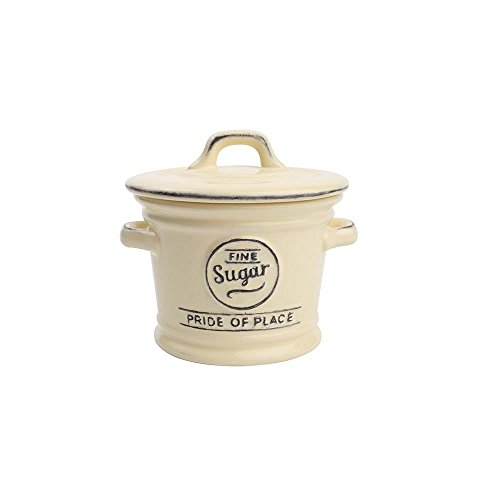 T&G Woodware Pride of Place Sugar Bowl in Old (Bowl In Cream)